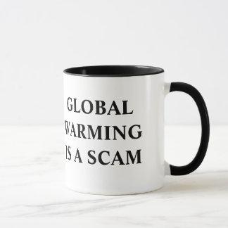 Caneca de café morna