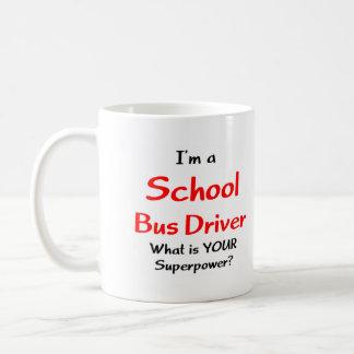Caneca De Café Motorista de auto escolar