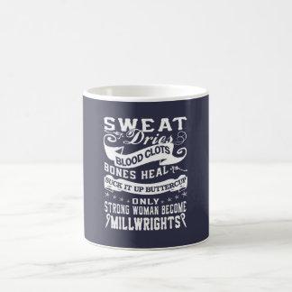 Caneca De Café Mulher do Millwright