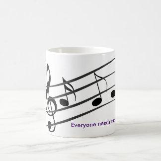 Caneca De Café música therepy