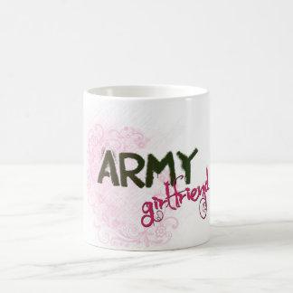 Caneca De Café Namorada do exército