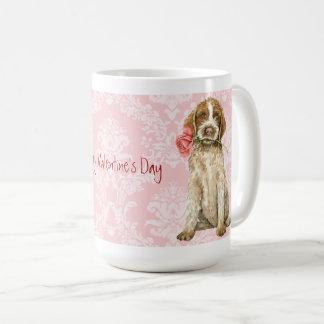 Caneca De Café Namorados Griffon cor-de-rosa