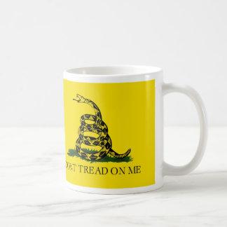 Caneca De Café NÃO PISE em MIM, a bandeira de Gadsden
