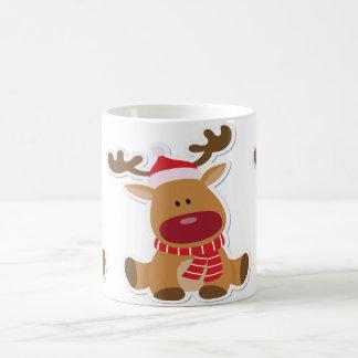 Caneca De Café Natal da rena