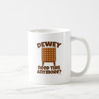 Caneca De Café Necessidade de Dewey isto?