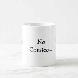 Caneca De Café Nenhum Comico