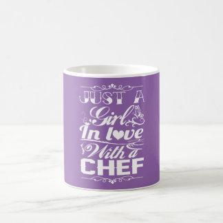 Caneca De Café No amor com um cozinheiro chefe