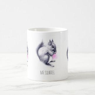 Caneca De Café Nome feito sob encomenda do Sr. Esquilo |