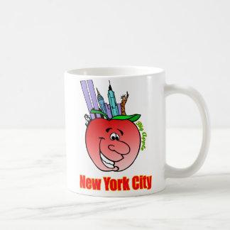 Caneca De Café Nova Iorque Apple grande