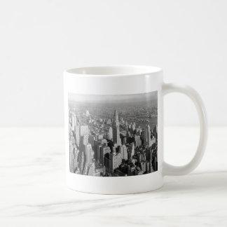 Caneca De Café Nova Iorque do vintage