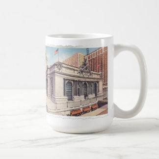 Caneca De Café Nova Iorque grande do terminal central