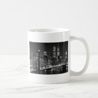 Caneca De Café Nova Iorque preta & branca