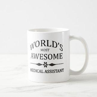 Caneca De Café O assistente médico o mais impressionante do mundo