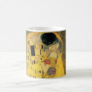 Caneca De Café O beijo - Gustavo Klimt