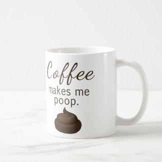 Caneca De Café O café faz-me o tombadilho