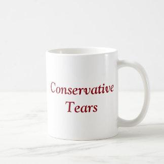 Caneca De Café O conservador rasga - republicano - o Tório