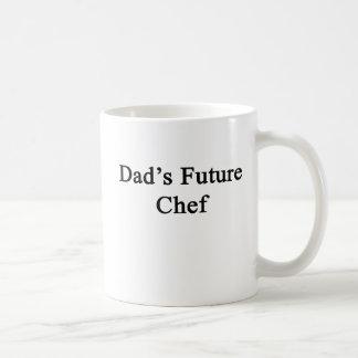 Caneca De Café O cozinheiro chefe futuro do pai