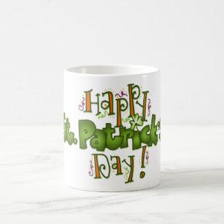 Caneca De Café O dia de Patrick de santo