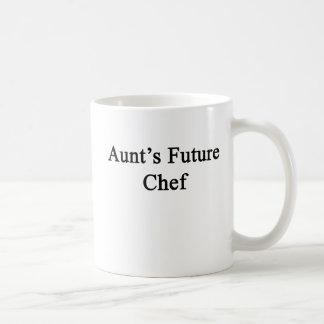 Caneca De Café O Futuro Cozinheiro chefe da tia