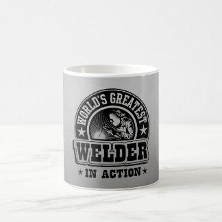 Caneca De Café O grande soldador do mundo na ação