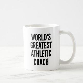 Caneca De Café O grande treinador atlético dos mundos
