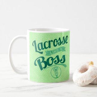 Caneca De Café O Lacrosse gosta de um chefe