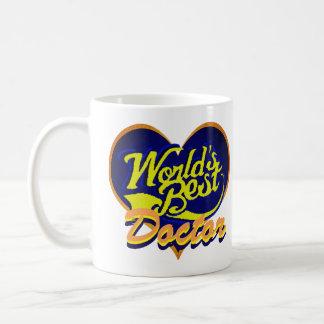 Caneca De Café O melhor doutor do mundo