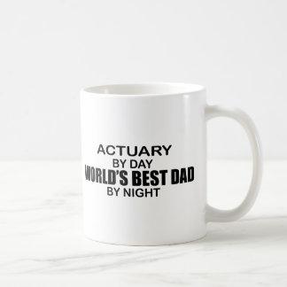 Caneca De Café O melhor pai em a noite - escrivão do mundo