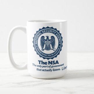 CANECA DE CAFÉ O NSA