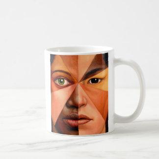 Caneca De Café O rosto humano
