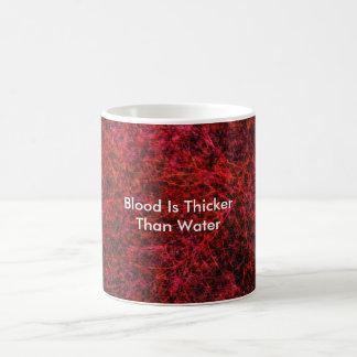 Caneca De Café O sangue é mais grosso do que a água