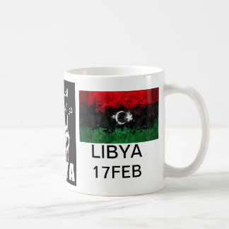 Caneca De Café O sangue líbio é a linha vermelha