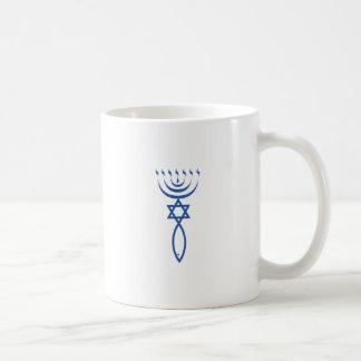 Caneca De Café O selo judaico messiânico de Jerusalem