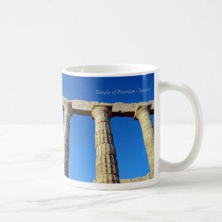 Caneca De Café O templo de Poseidon em Sounio