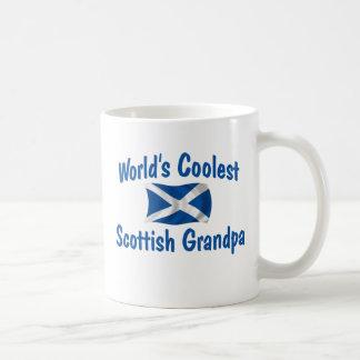 Caneca De Café O vovô escocês o mais fresco