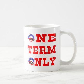 Caneca De Café Obama um termo somente