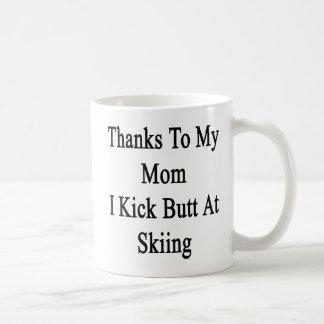 Caneca De Café Obrigados a minha mamã eu retrocedo o bumbum no