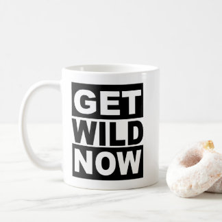 Caneca De Café Obtenha selvagem agora