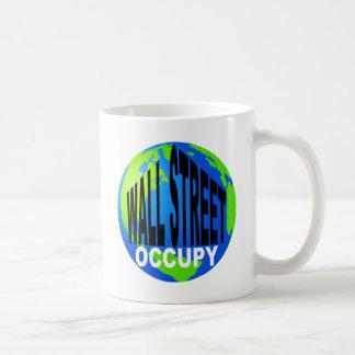 Caneca De Café Ocupe Wall Street global