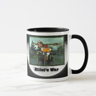 Caneca de café oficial da guerra de Elliot