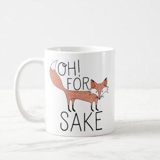 Caneca De Café Oh! Para a causa do Fox