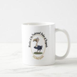 Caneca De Café Ordem fraterno de Buzzards