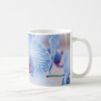 Caneca De Café Orquídeas azuis