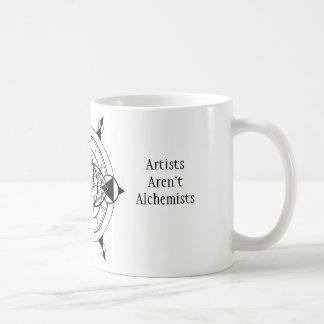 Caneca De Café Os alquimistas são artistas