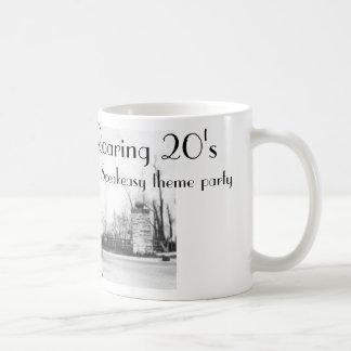 Caneca De Café Os anos 20 do Speakeasy dos anos 20 rujir