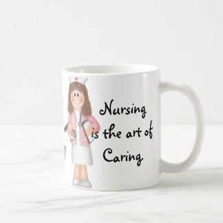 Caneca De Café Os cuidados são a arte do inquietação