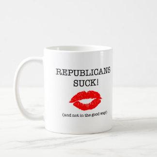 Caneca De Café Os republicanos sugam