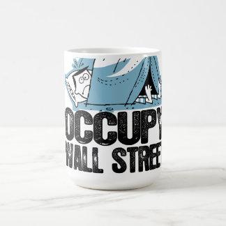 Caneca De Café Oxygentees ocupa Wall Street