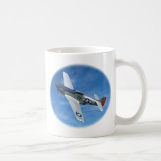 """Caneca De Café P-51D """"Cripes A poderoso """""""