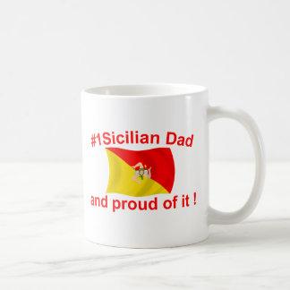 Caneca De Café Pai #1 siciliano orgulhoso